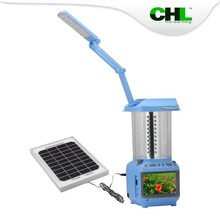 2015 new CHL solar lanterns indoor with TV FM cell phone charger