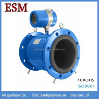 stainless steel electromagnetic flow meter for conductive liquid