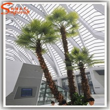 2015 Nearly nature manufacture all kinds of cheap artificial plastic palm trees