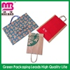 Temporaty discount craft paper shopping bag made in china