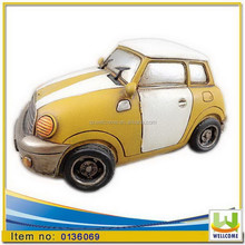Polyresin Home Decormoney saving box mini cooper