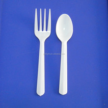 flight supply plastic disposable decorative cutlery