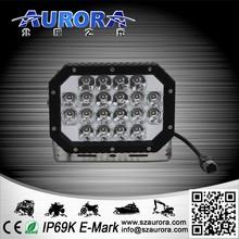 AURORA 6inch 60w quad led light 4wd off road light