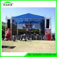 spigot truss DJ system usage speaker hanging truss stand