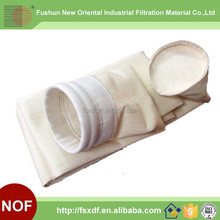 High temperature resistant Non woven Ryton PPS dust filter bag for Baghousing