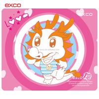 EXCO custom good quality anime rubber rabbit gaming mouse pad laptop anti slip pad