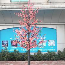 Distinctive pink China market cherry blossom christmas tree