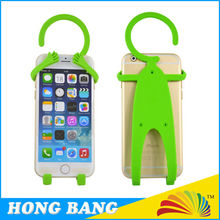 HBJ073 Silicone flexible cell phone holder man shaped cell phone holder