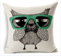 2015 china Wholesale Factory Directly of Alibaba sell well fashion MOE MOE owl pillow cases