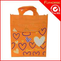 Magic design cute printing cheap price pp non woven tote bag