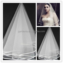 Best Selling Wedding Bridal Veil Fashion Two Layers Wedding Accessories Tulle Simple Women Veil