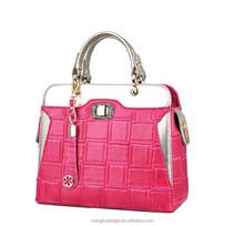 Top ends 2015 latest design femal tote bag ladies handbags manufacturer