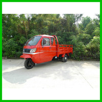 Cargo Boxing 300Cc 3 Wheel Motor Tricycle / Popular In South American Countries