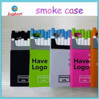 2014 hot sell silicone smoke cigarette Case for iphone 6 6plus
