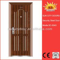 Security iron restaurant entrance doors israel SC-S043