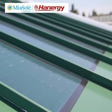 Hanergy flexible solar panels cell roll china
