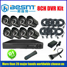China supplier cheap cctv products night vision cameras 960h standalone 8 channel dvr kit (BS-T08M2)