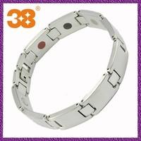 2013 new products jewelry neodymium magnet bracelet silver bracelet 925