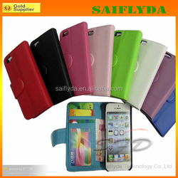 """leather wallet case for iphone 6 leather case 4.7"""""""