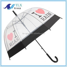 2015 new design custom umbrella / dome shaped cheap umbrella / transparent umbrella from alibaba china