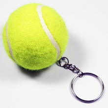 Keychain Factory Promotional Custom Floating Tennis Ball Keychain