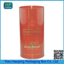 Popular Customized Red Metal tin Box for Tea health Product Wine packaging Wholesale