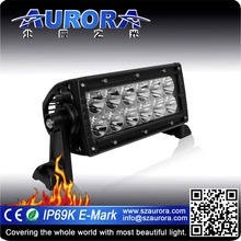 Aurora IP69K waterproof 6inch LED dual row off road motorcycle parts