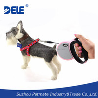 Dogs pet products retractable dog lead for dogs up to 33lbs