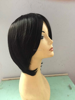 all machine made cheapest synthetic hair wig short hair wig for woman
