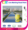 Reflective thermoplastic road marking paint
