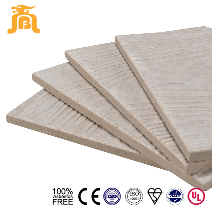 Cement Board Product : Five layer coating fiber cement board for prefab house