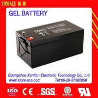 12v 250ah storage GEL Deep Cycle Battery(SRG250-12)