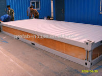 Assembled prefabricated housing modular container house with ISO9001 low cost easy fast install high insulation