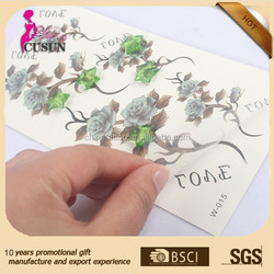 white lace temporary tattoo