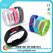 alibaba express fashion silicon led watch 2015 sport digital watch water resist touch led bracelet watches men