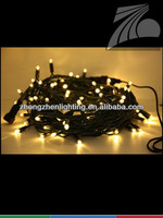 Outdoor IP65 waterproof led rubber copper wire string light 20 bulb white