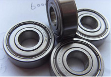 China factory of stainless bearing with bearing cage 6017 deep groove ball bearing