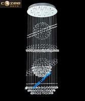 Modern Style Contemporary Lead K9 Crystal Chandelier Lamp Lights Lighting Fixtrure CZ8003/9