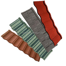 Colorful italian style stone coated steel roofing tile/ Eco Friendly newest design bronze color steel roof tile