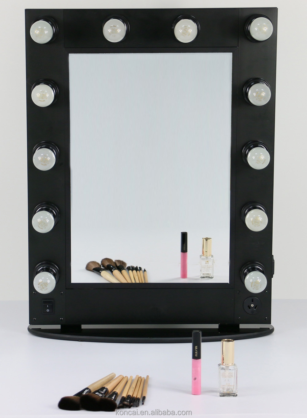 led light cosmetic mirror led salon mirror makeup mirror light. Black Bedroom Furniture Sets. Home Design Ideas