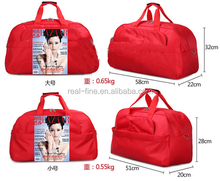 2015 Fashion Foldable portable shoulder bag waterproof travel bag Travel luggage large capacity Travel Tote men and women