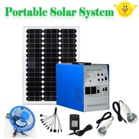Stand Alone Home Solar Kit 24v 220v 150W 300w solar kit with solar panel battery inverter for home use