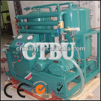 Waste Transformer oil filtration machine