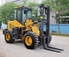LN625 off road forklift made in China