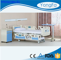 YONGFA CE FDA ISO Manufacturer Hot Sale linak electric hospital bed hospital bed parts hospital bed weight scale
