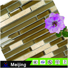 strip glass and marble floor and wall tiles