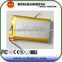 hot sale best price rechargeable battery ip 655085 for ectaco dictionaries