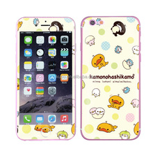 Fashionable design mobile phone decoration gel skin for Iphone 6S