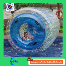 2015 Hot Sale blue colour inflatbale water walking roller for sale