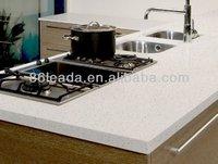 Discount building material artificial quartz stone top dining tables